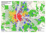 Budapest residential types map - 2015